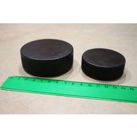 Шайбы хоккейные 6 см и 7,5 см СССР (цена за обе)