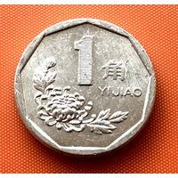 112-21 Китай, 1 цзяо 1995 г.