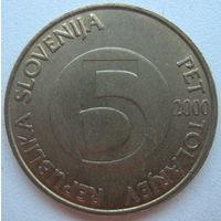 Словения 5 толларов 2000 г.
