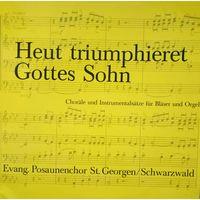 HEUT TRIUMPHIERET GOTTES SOHN, 1980, Germany, LP, EX