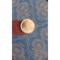 394# 1 форинт 2007. венгрия