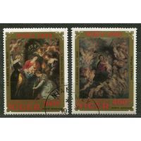 Живопись. Рубенс. Рождество. Нигер. 1982. Серия 2 марки