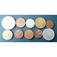 10 разных монет одним лотом. Лот 3