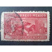 Мексика 1934 персона, вулкан, кактусы