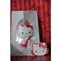 Открытка Япония Китти Мягкая игрушка 10см Детская