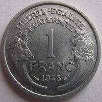 1k Франция 1 франк 1948 В ХОЛДЕРЕ распродажа коллекции