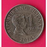 37-24 Филиппины, 1 песо 2010 г.