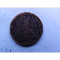 Нидерланды 1 цент 1878г.  распродажа