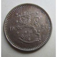 Финляндия. 50 пенни 1921 Н.  5-298