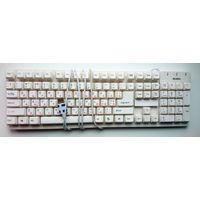 Клавиатура Sven standard 301 (USB) белая, с 1 Руб (как есть)