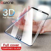 Закаленное Стекло 3D полное покрытие   для huawei P20 Pro P10 Lite Plus
