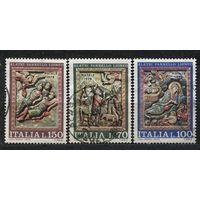 Рождество. Италия. 1975. Полная серия 3 марки