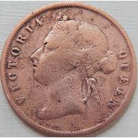 10. Поселение Стрэйт 1 цент 1901 год