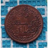 Оман и Маскат 1/4 анны 1898 года. XIX век.