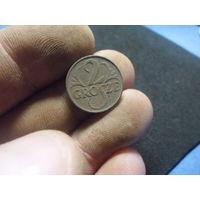 2 гроша 1923 г. Речь Посполита