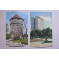 Таллин; 1974, 4 открытки.