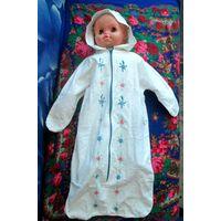 Летний спальный мешок для ребёнка от 4 до 8 мес.