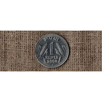 Индия 1 рупия 2000
