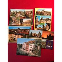 Прага - открытки 5 шт - ЧССР - Чехия - цена за все!