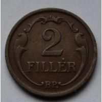 Венгрия 2 филлера, 1939 г.