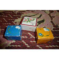 3 коробочки из-под шоколадных конфет (Западная Германия, 1986 год)