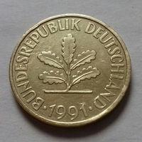10 пфеннигов, Германия 1991 J