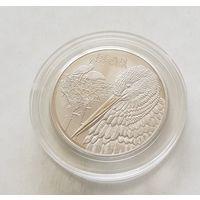 1 рубль 2009 Белый аист,Животный мир стран ЕврАзЭС