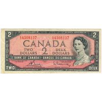 Канада 2 доллара 1954 г.