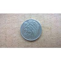 Тринидад и Тобаго 25 центов, 1997г. (U-бцу)