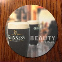 Подставка под пиво (бирдекель) Guinness No 15, вариант 2