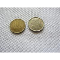 Монеты Аргентины.