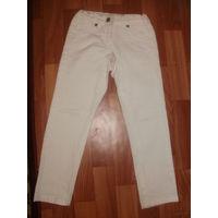 Белые джинсы 110-116