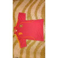 Профессиональная, высокого качества игровая майка игрока сборной Испании Фернандо Тореса, вышитый герб, система перфорации.