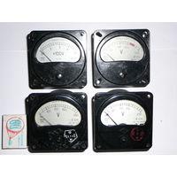 Вольтметр Э8021, Ц24, амперметр Т25М, Т210 переменный ток 250в 450в