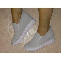 Туфли-кеды  по стельке 24,5 см.