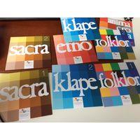 Набор CD с музыкой и песнями на хорватском языке