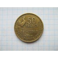 Франция 50 франков 1952г.