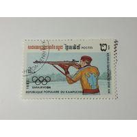 Камбоджа 1983. Зимние олимпийские игры.