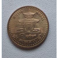 Непал 1 рупия, 2005 7-1-63