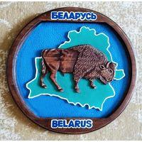 Панно резное Беларусь.