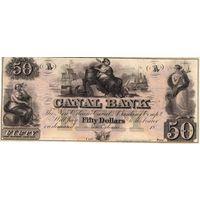 США, 1800', 50 долларов, Canal Bank, New Orleans. Не частые!