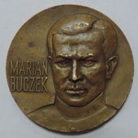 """Настольная медаль """"Marian Buczek"""" 1944-1984г. Польша. Диаметр 66.9см. Бронза."""