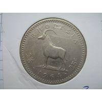 Родезия 25 центов 1964г.