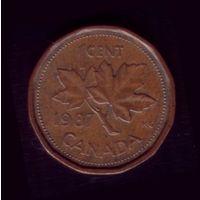 1 цент 1987 год Канада