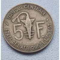 Западная Африка (BCEAO) 5 франков, 1975 6-3-30