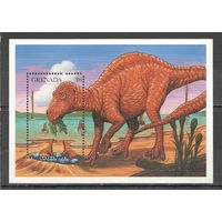 Гренада Фауна Земноводные Пресмыкающиеся Динозавры
