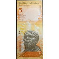 Венесуэла 5 боливара 2007-2008гг.
