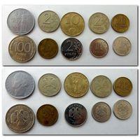 Набор монет - лот 43 / цена за все/