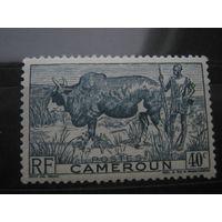 Марка - фауна, колонии, Камерун