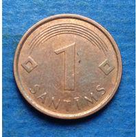 Латвия 1 сантим 2007
